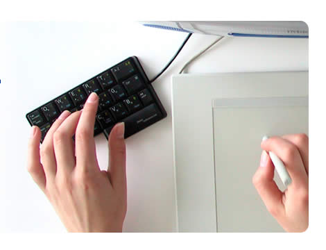 Half Keyboard - fast one-handed touch-typing using your existing skills